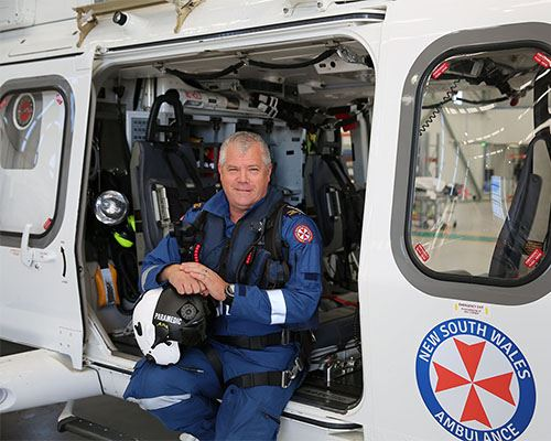 NSW Ambulance Employee of the Month for June