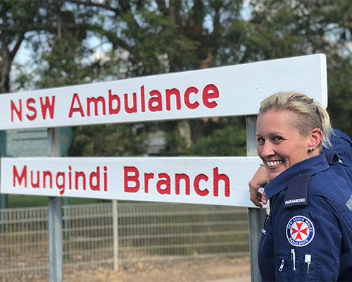 NSW Ambulance Employee of the Month for July