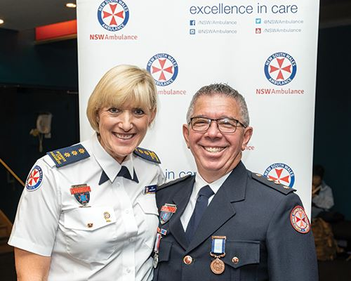 NSW Ambulance Employee of the Month for January