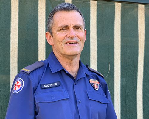 NSW Ambulance Employee of the Month for March