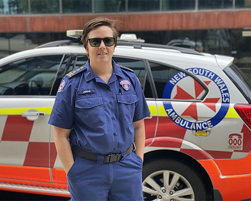 NSW Ambulance Employee of the Month for May