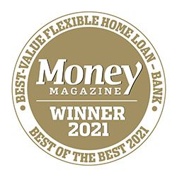 Money magazine winner Best-Value Flexible Home Loan 2021