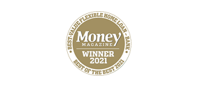 Money Magazine Winner 2021 Best-Value Flexible Home Loan - Bank